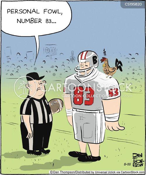 football fields cartoon