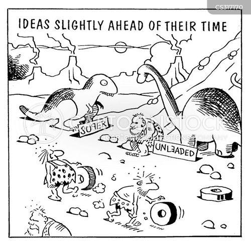looking ahead cartoon