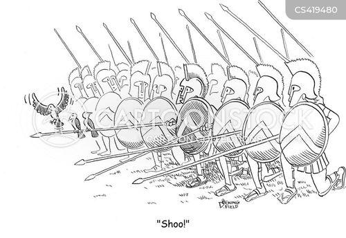 hoplite cartoon