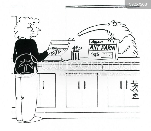 ant-eaters cartoon