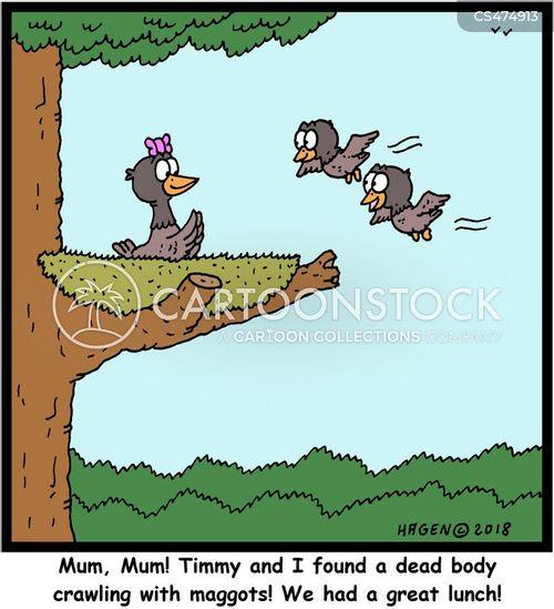 gory cartoon
