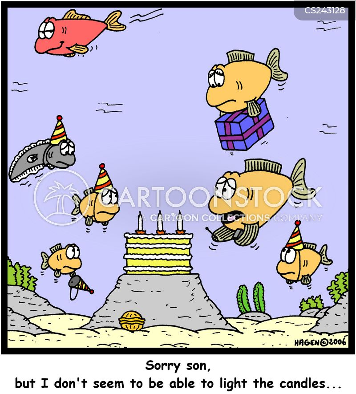 wet party cartoon