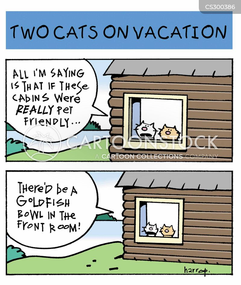 cabins cartoon