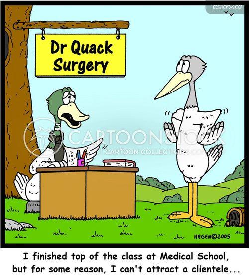 med schools cartoon