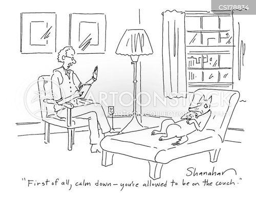 sofas cartoon