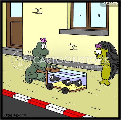 push chairs cartoon
