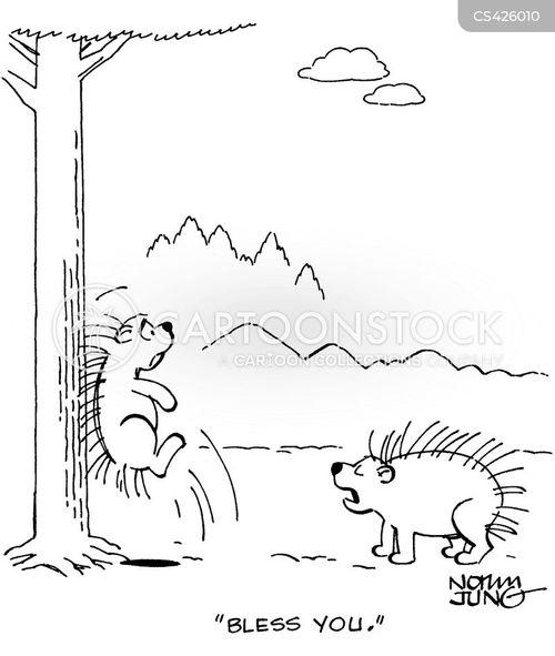 impale cartoon