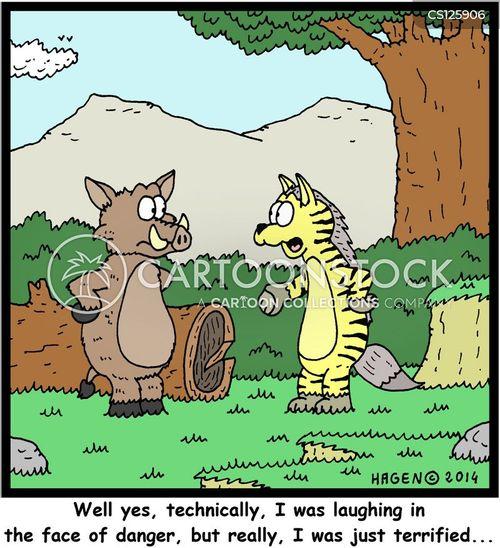 hyaenas cartoon