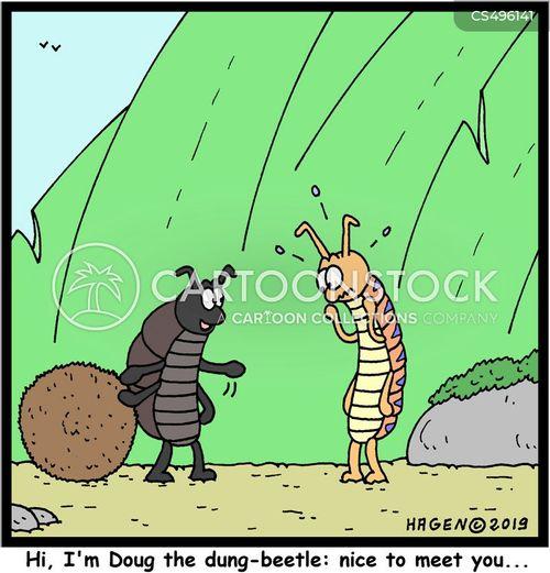 germaphobe cartoon