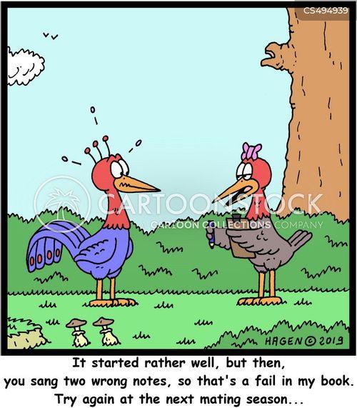 mating seasons cartoon