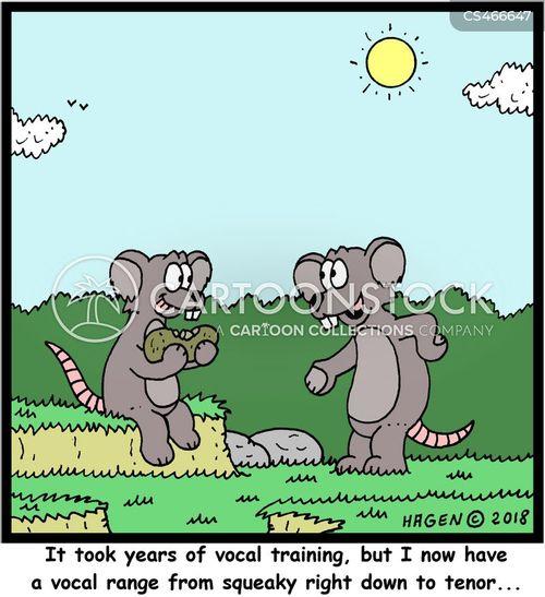 vocal range cartoon