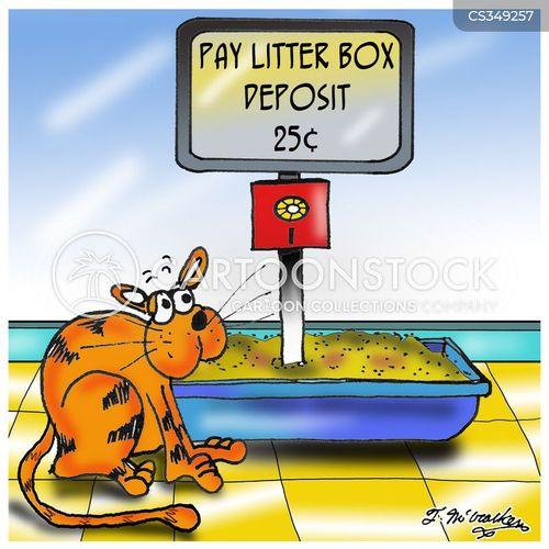 pay toilet cartoon