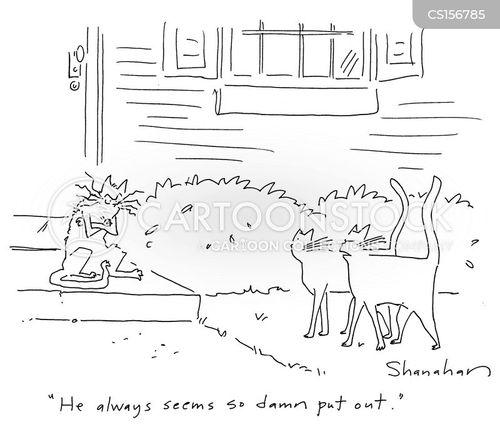 bothered cartoon