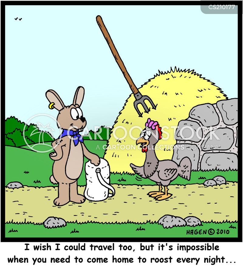 roosts cartoon