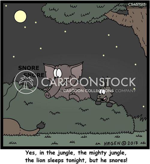 snorers cartoon
