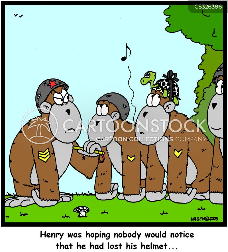 army parade cartoon