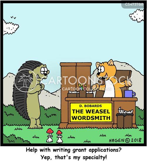 academic grants cartoon