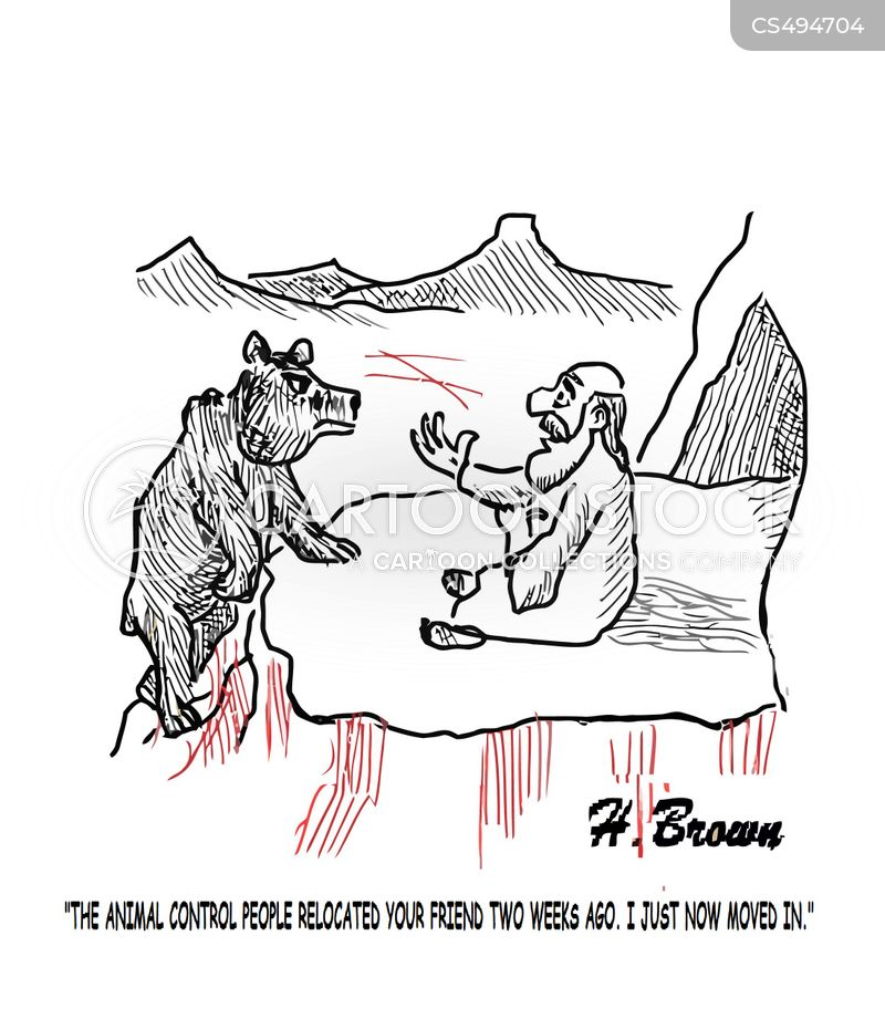 animal controls cartoon
