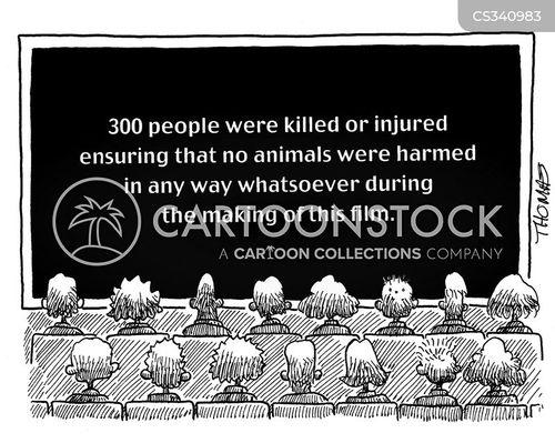 harms cartoon