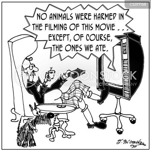 animal right cartoon