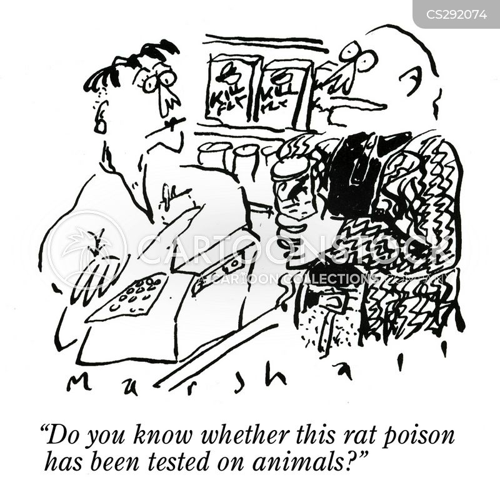 rat poisons cartoon