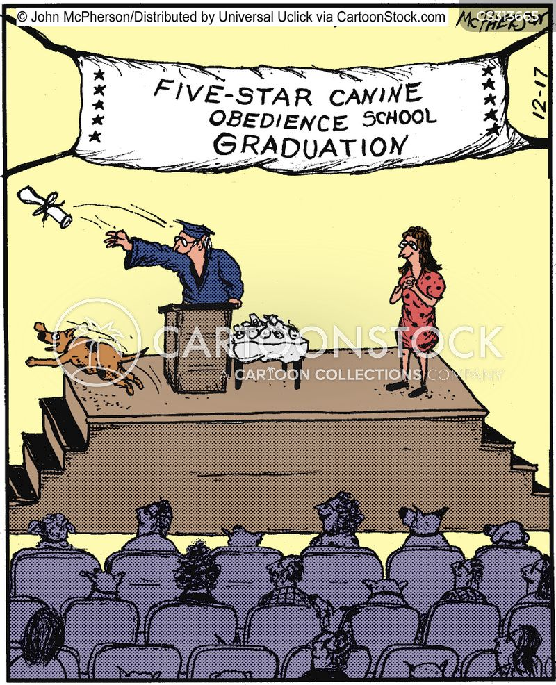 animal trainer cartoon