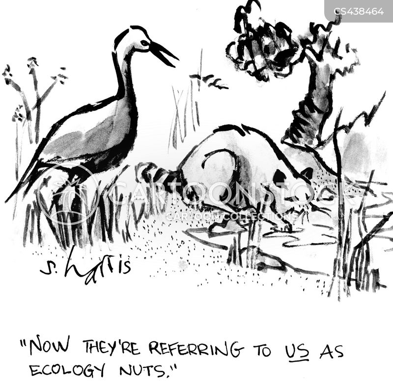 ecologist cartoon