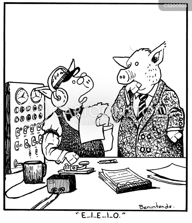 telegraph operators cartoon