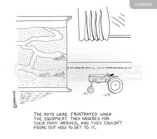 exasperation cartoon
