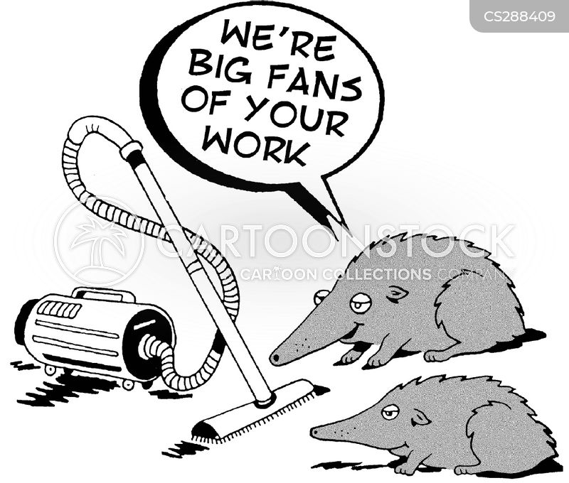vaccum cleaners cartoon