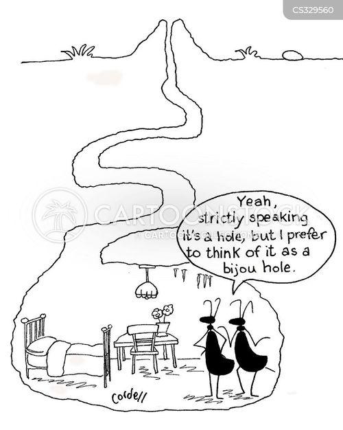 residence cartoon