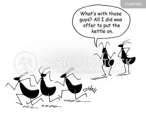 risky business cartoon