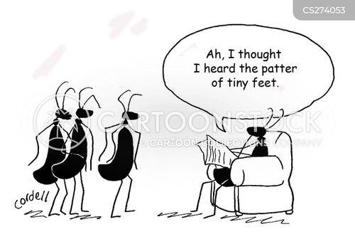 tiny feet cartoon