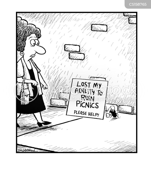 picnickers cartoon