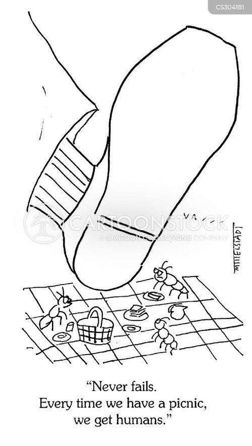 picnic hamper cartoon