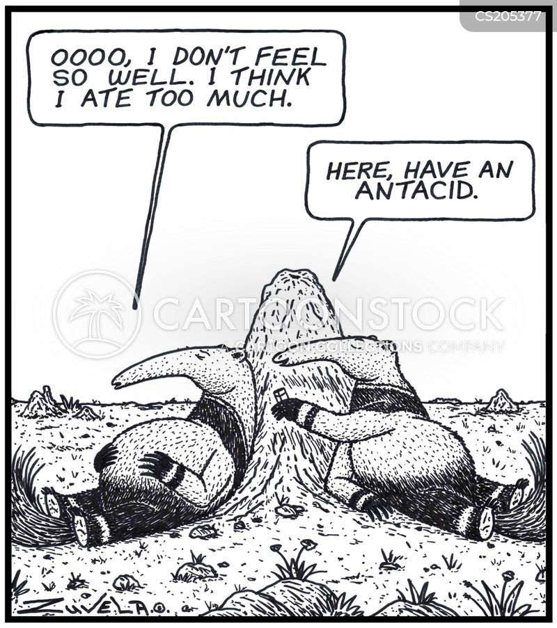 nauseous cartoon