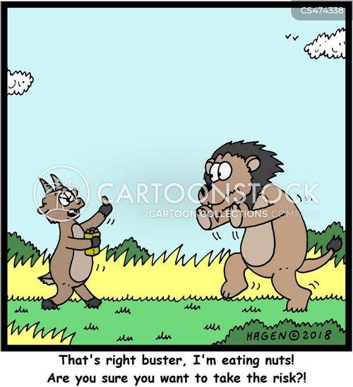 allergens cartoon