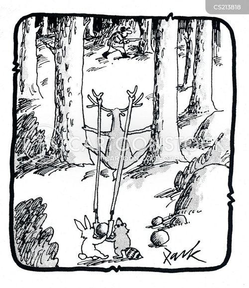 projectile cartoon