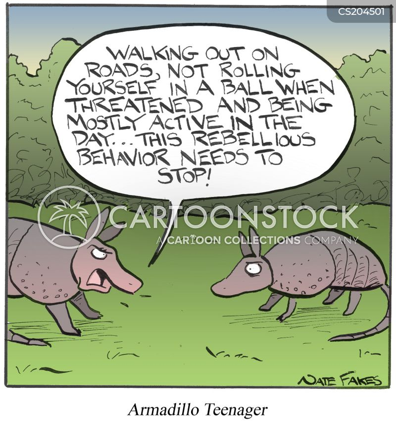 rebellious behavior cartoon