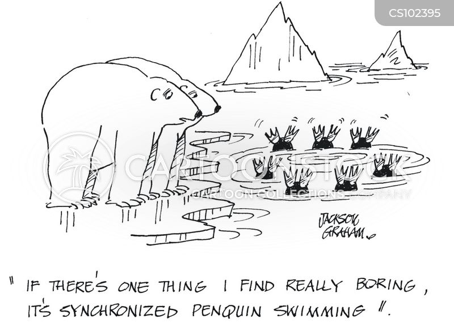 antartic cartoon