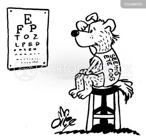 assistance dog cartoon