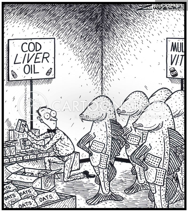 atlantic cod cartoon