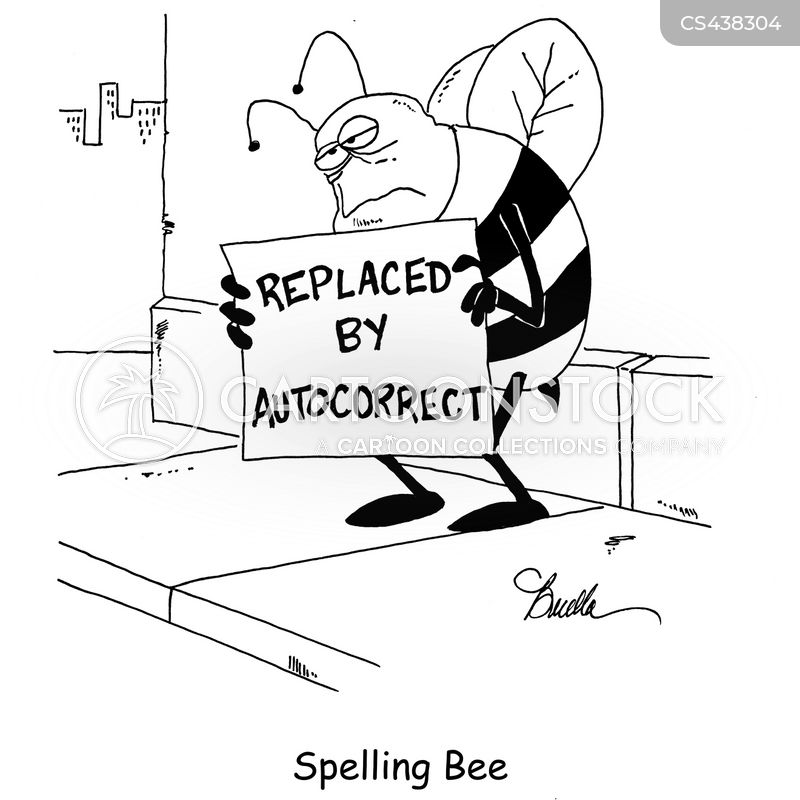 Image result for spelling bee autocorrect