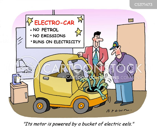 electric power cartoon