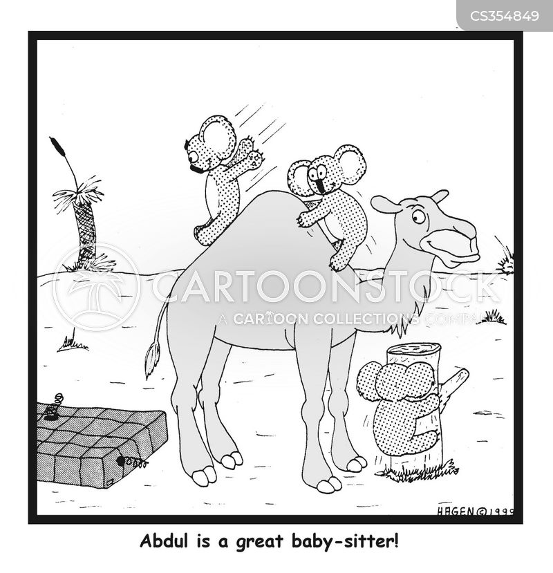 baby-sitters cartoon