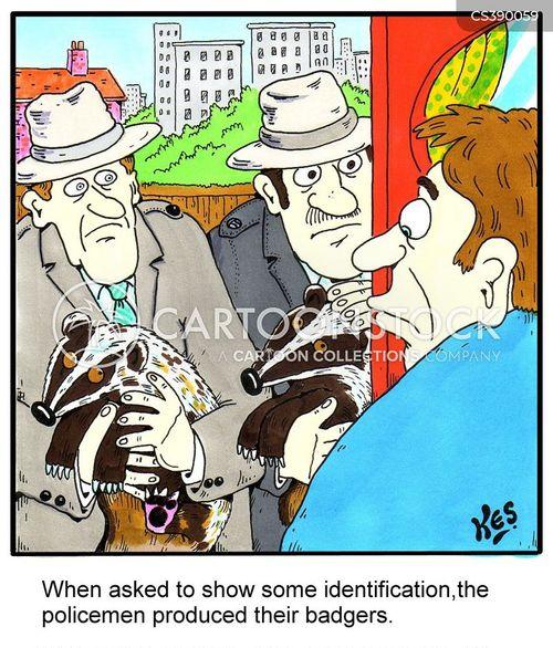 federal bureau cartoon