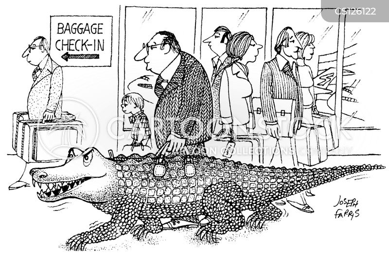 alligator skin cartoon
