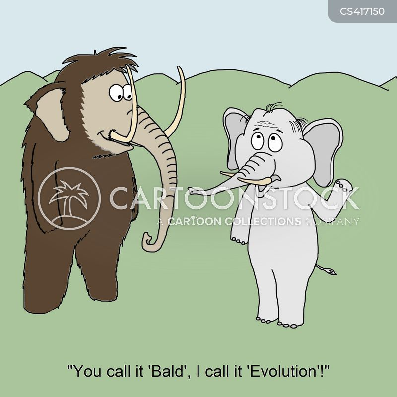 extinct species cartoon