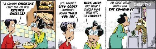 burdensome cartoon