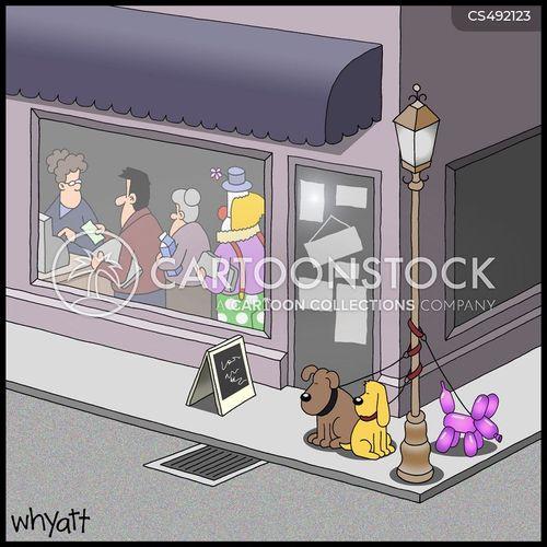 balloon dogs cartoon